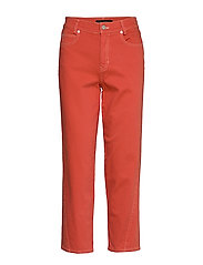 ReeseKB Cropped Jeans - CHILI