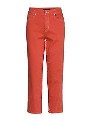 Karen By Simonsen ReeseKB Cropped Jeans - CHILI