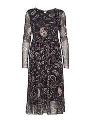 PeonyKB Dress - SOFT PAISLEY