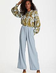 Karen By Simonsen - CalesiKB Wide Pants - bukser med brede ben - celestial blue - 3