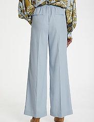 Karen By Simonsen - CalesiKB Wide Pants - bukser med brede ben - celestial blue - 4