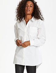 Karen By Simonsen - NinjaKB Shirt - denimskjorter - bright white - 0