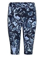 GumiKB Printed Shorts - BLACK IRIS GLAZE