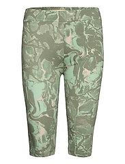 GumiKB Printed Shorts - SEAGRASS GLAZE