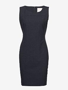 Sydney Suit Dress - DARK BLUE