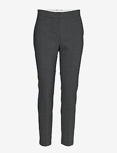 SydneyKB Cigaret Pants - GREY MELANGE