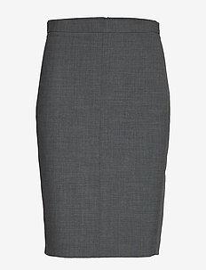 SydneyKB Pencil Skirt - GREY MELANGE