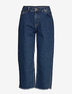 MeezoKB Cropped Jeans - DENIM BLUE