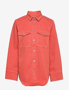 ReeseKB Jeans Shirt - CHILI
