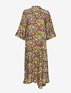 PoppyKB Dress - CHILI ALLOVER PRINT
