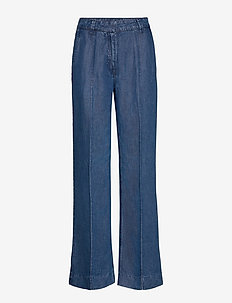 DimaKB MW Pants - spodnie szerokie - light denim blue