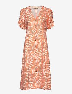 ZippyKB Dress - CANTELOUPE