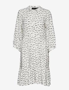 CebraKB Tunic Dress - EGRET