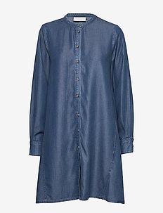TaliaKB Dress - shirt dresses - estate blue