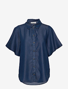 TaliaKB Shirt - denimskjorter - estate blue