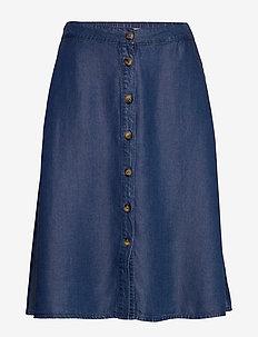 TaliaKB Skirt - jeansowe spódnice - estate blue
