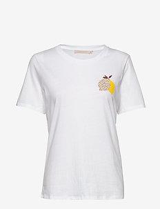 LemonadeKB Tee - BRIGHT WHITE