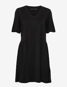 RinnaKB Dress - METEORITE BLACK