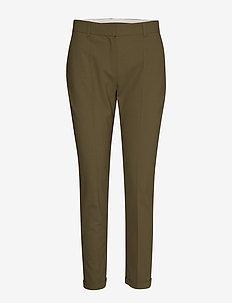 SydneyKB Cigarette Pants - slim fit bukser - military olive