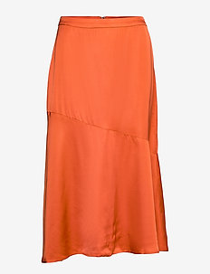 BrennaKB Solid Skirt - casual broeken - orange rust