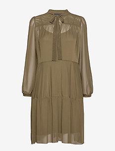 PeonyKB Short Dress - DARK OLIVE