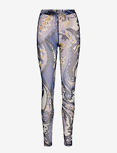 BeonyKB Leggings - leggings - paisley blue