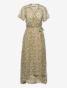 RileyKB Dress - midiklänningar - military olive