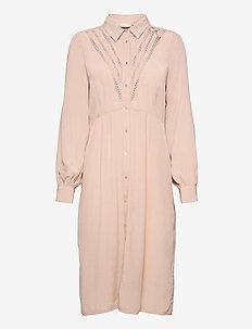 FeliciaKB Dress - hverdagskjoler - rose dust