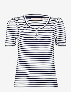 FloraKB SS Tee - t-shirts - black iris