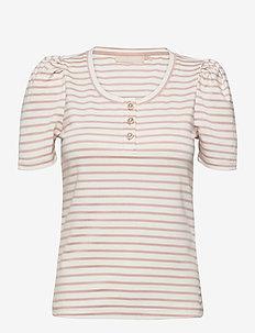 FloraKB SS Tee - t-shirts - rose smoke