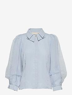 FazzleKB Blouse - blouses met lange mouwen - celestial blue