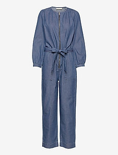 FigureKB Jumpsuit - jumpsuits - medium blue denim