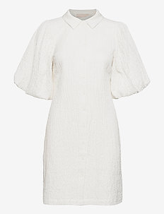 HoneyKB Dress - sukienki letnie - egret