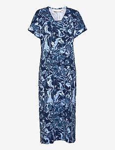 GumiKB Printed Dress - sommerkjoler - black iris glaze