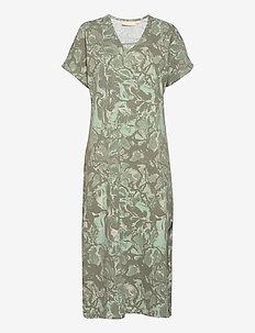 GumiKB Printed Dress - sommerkjoler - seagrass glaze