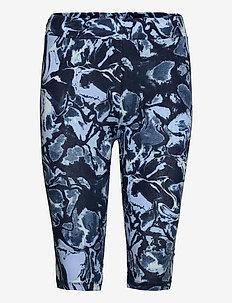 GumiKB Printed Shorts - cycling shorts - black iris glaze