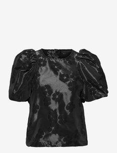JamieKB Blouse - blouses met korte mouwen - meteorite