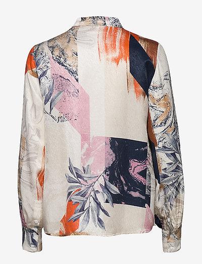 Karen By Simonsen Anniekb Shirt- Blusen & Hemden Egret