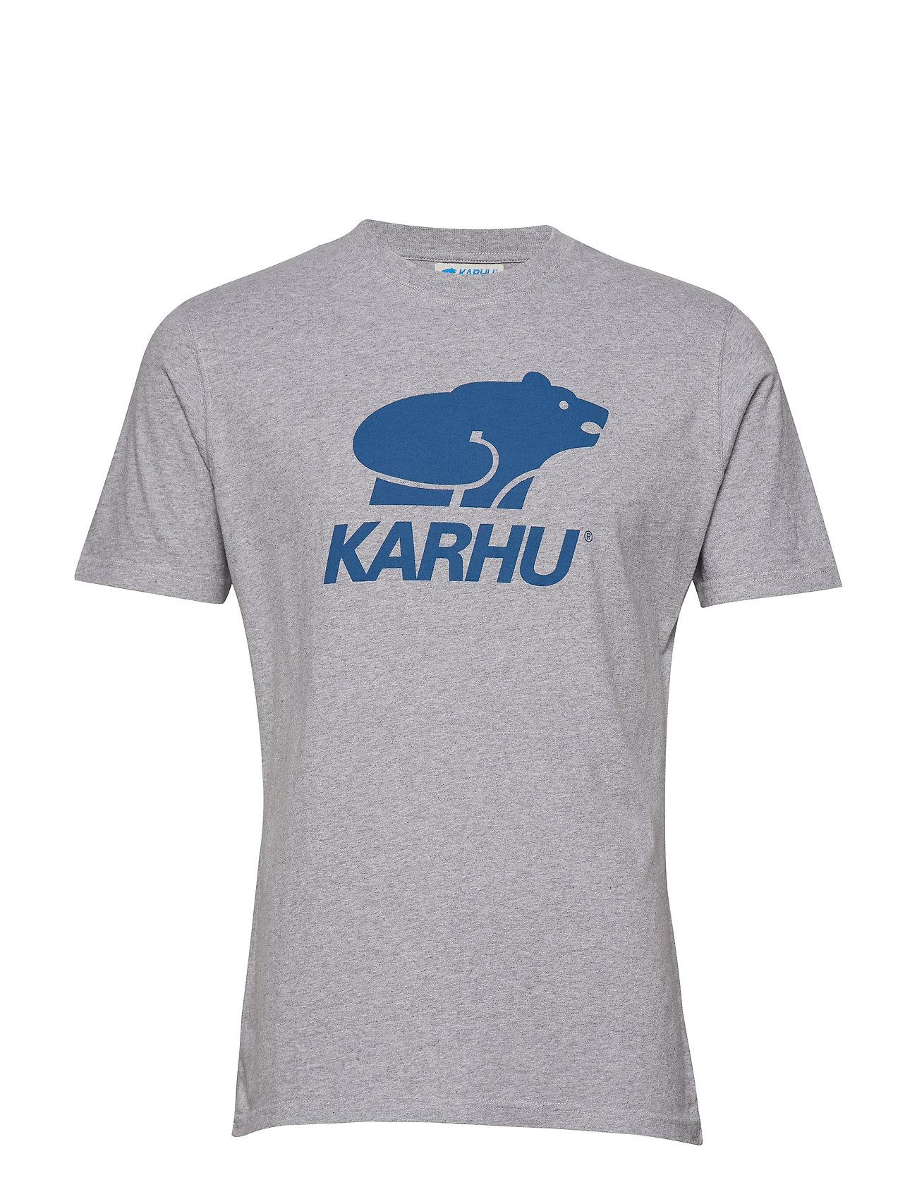 Grey shirtheather T navyKarhu Basic Logo 5LRj4A3