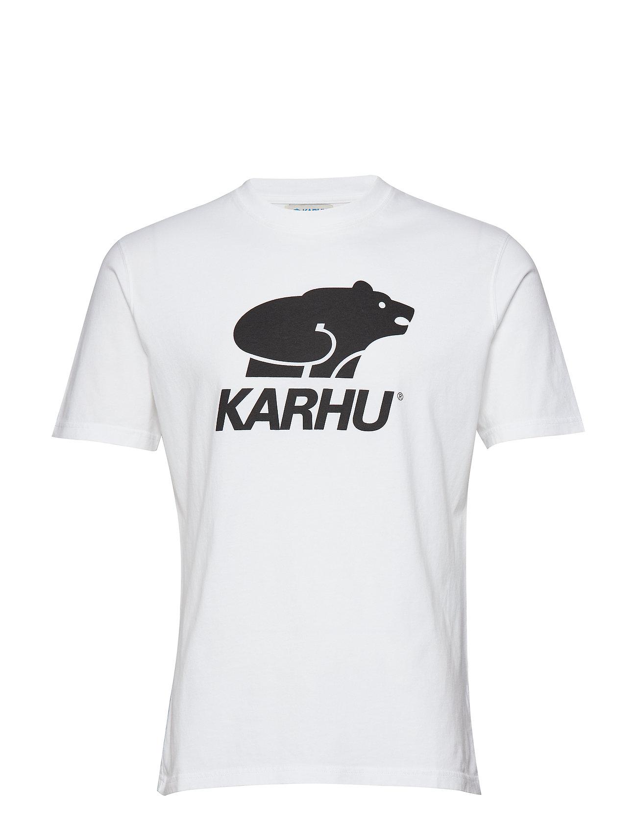 T blackKarhu Logo Basic Logo shirtwhite Basic JcTlFK1