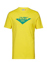 Fulcrum T-shirt - YELLOW/GREEN