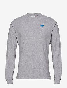Air Cushion T-shirt - longsleeved tops - heather grey