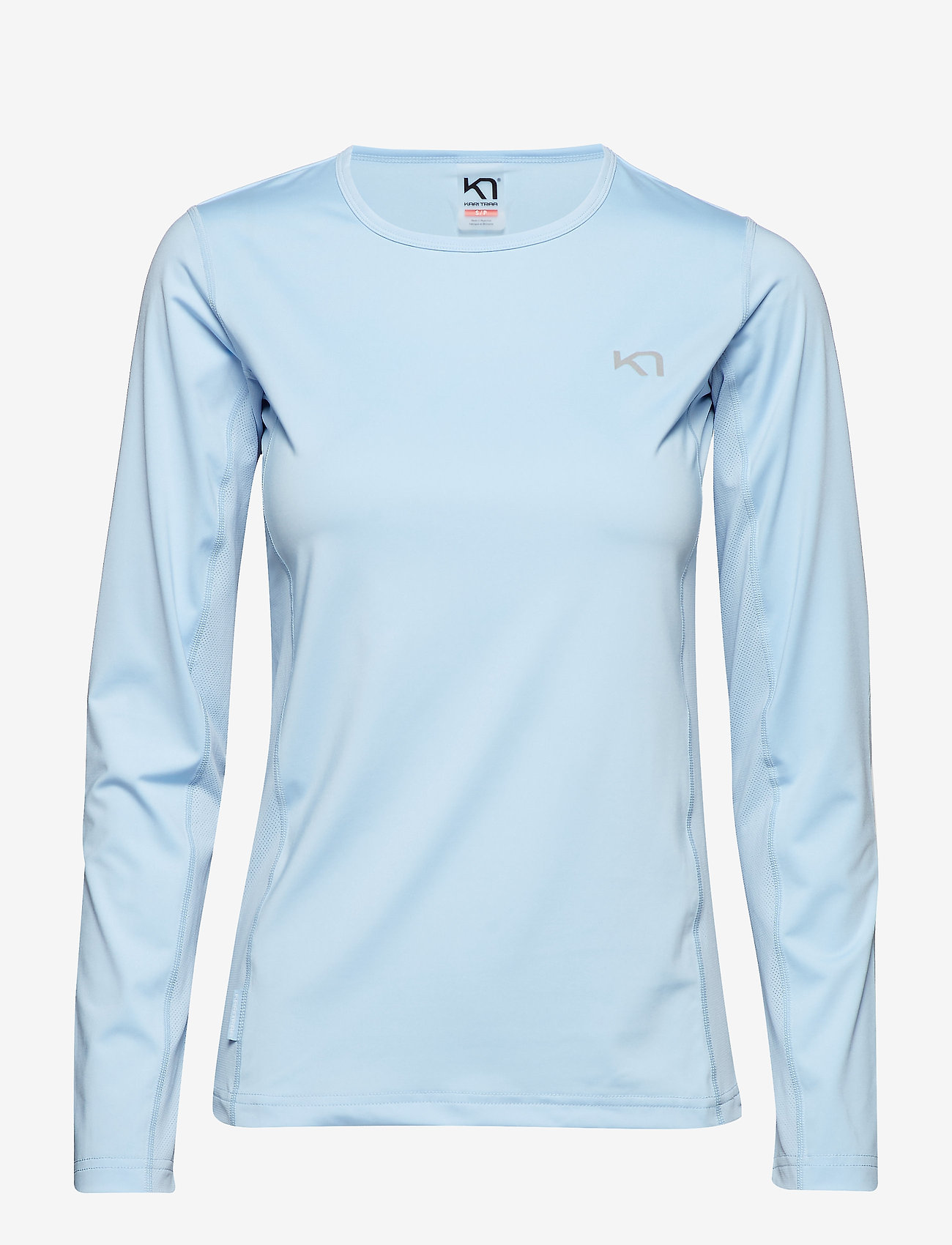 Kari Traa - NORA LS - logo t-shirts - cloud - 0