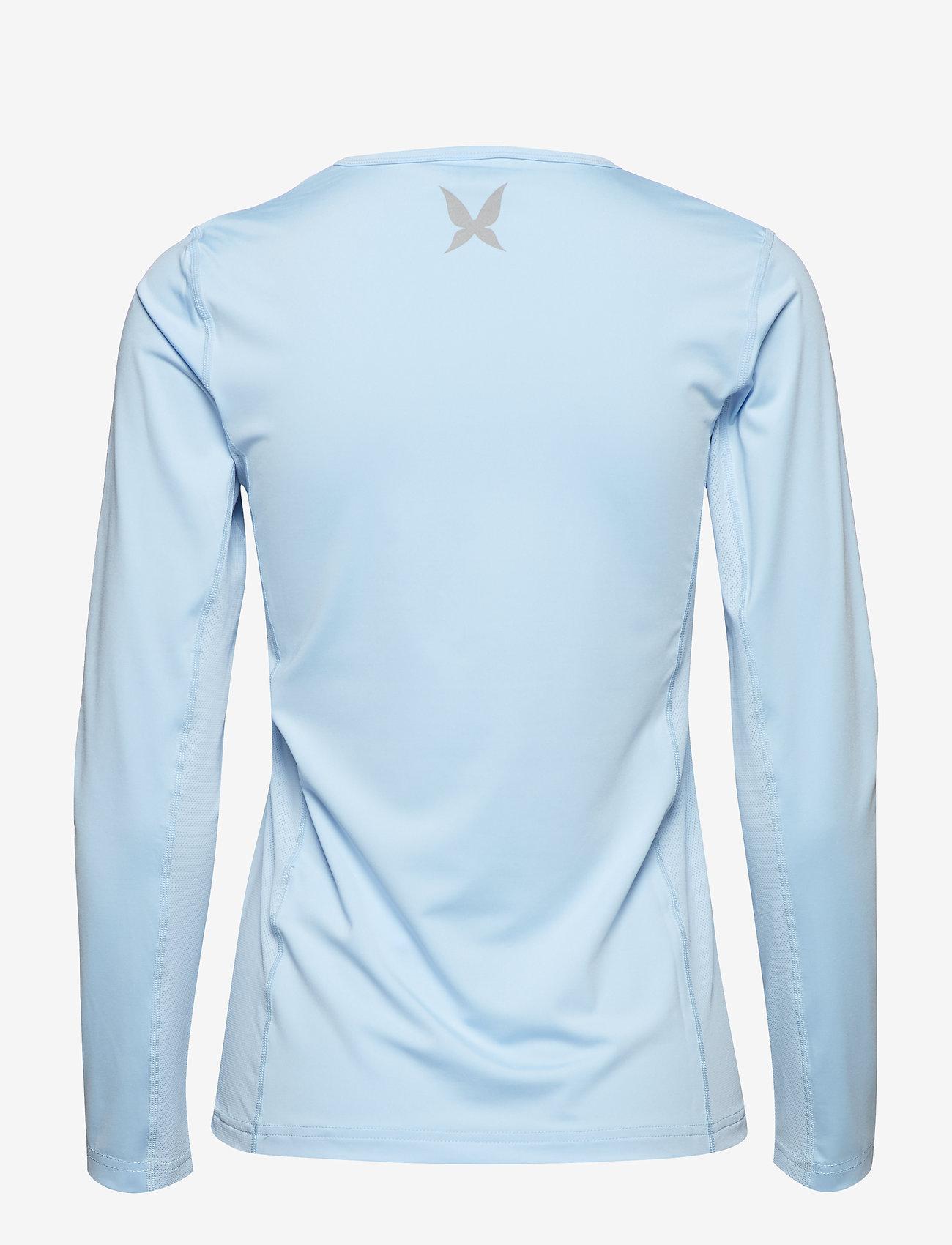Kari Traa - NORA LS - logo t-shirts - cloud - 1