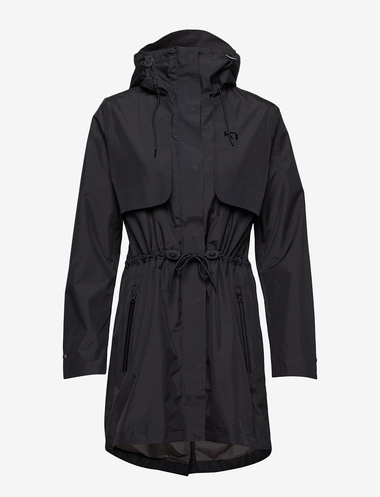 Gjerald L Jacket (Black) - Kari Traa KZdDNz