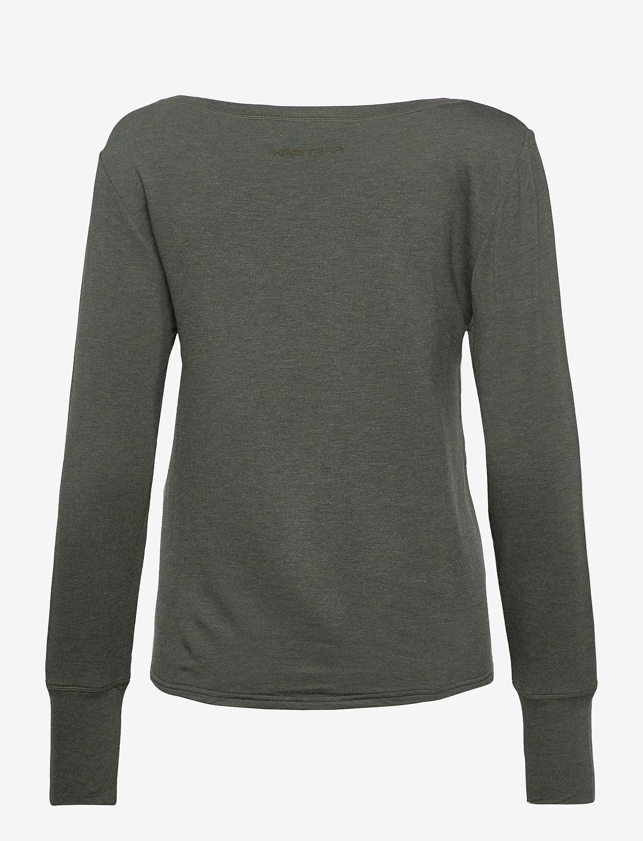 Kari Traa - VICTORIA LS - bluzki z długim rękawem - woods - 1
