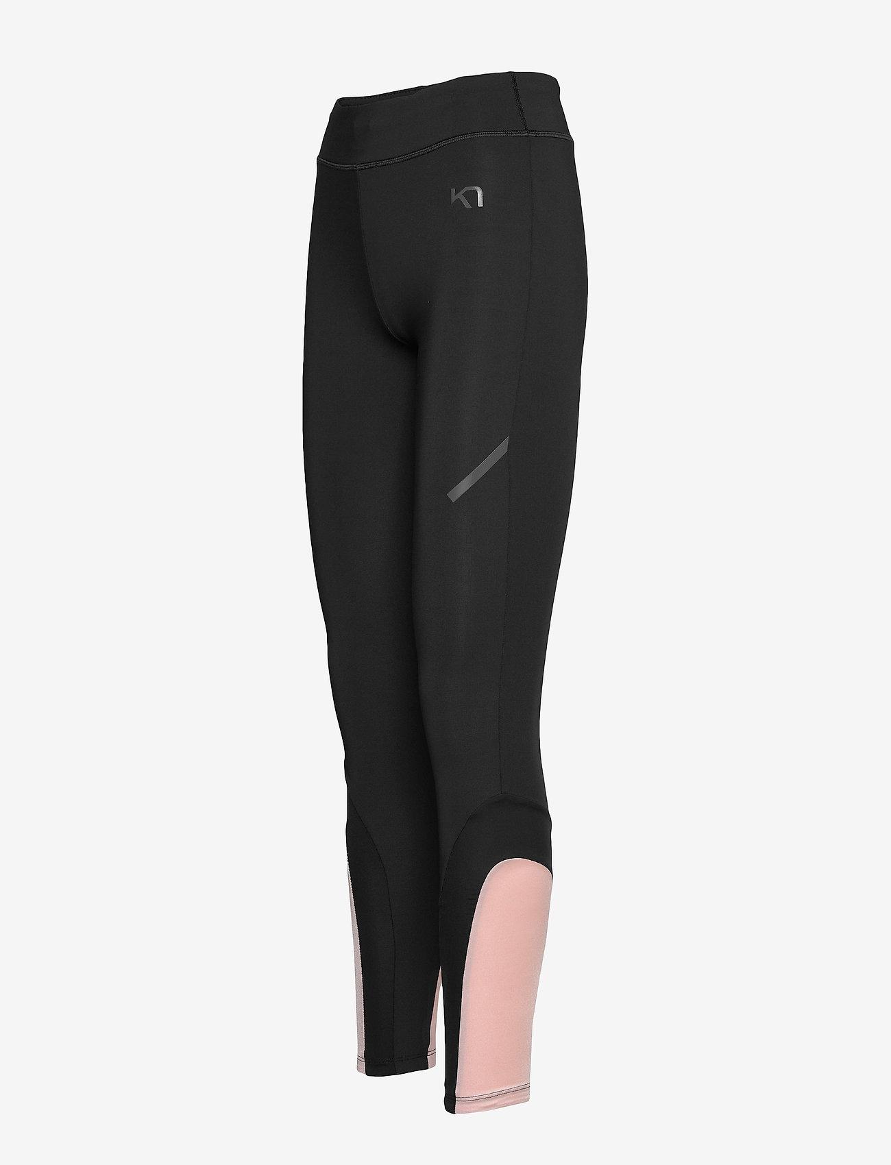 Kari Traa CAROLINE TIGHTS - Leggings & tights BLACK - Dametøj Særtilbud