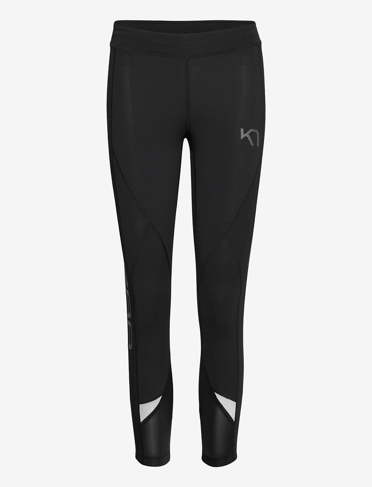 Kari Traa - LOUISE 3/4 TIGHTS - löpnings- och träningstights - black - 1