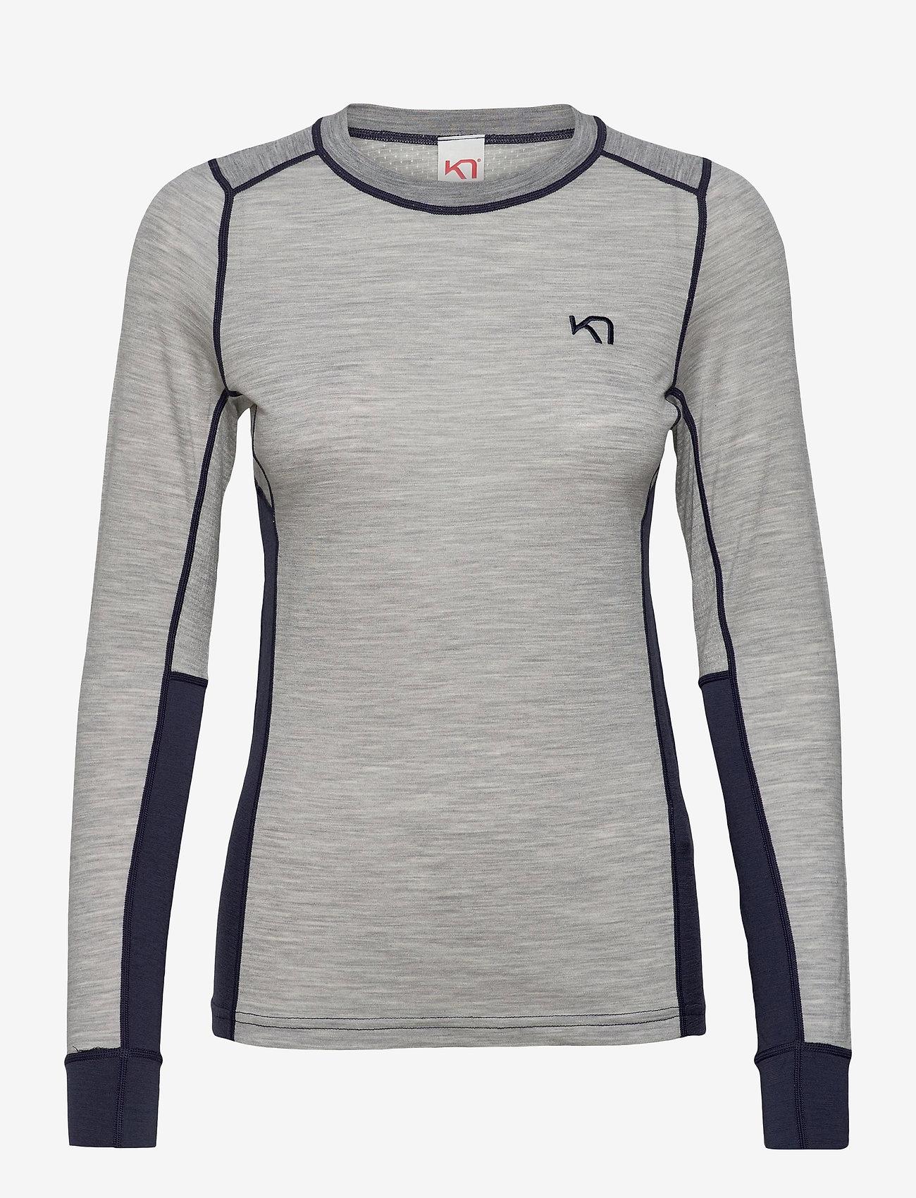 Kari Traa - LAM LS - thermo ondershirts - greym - 1