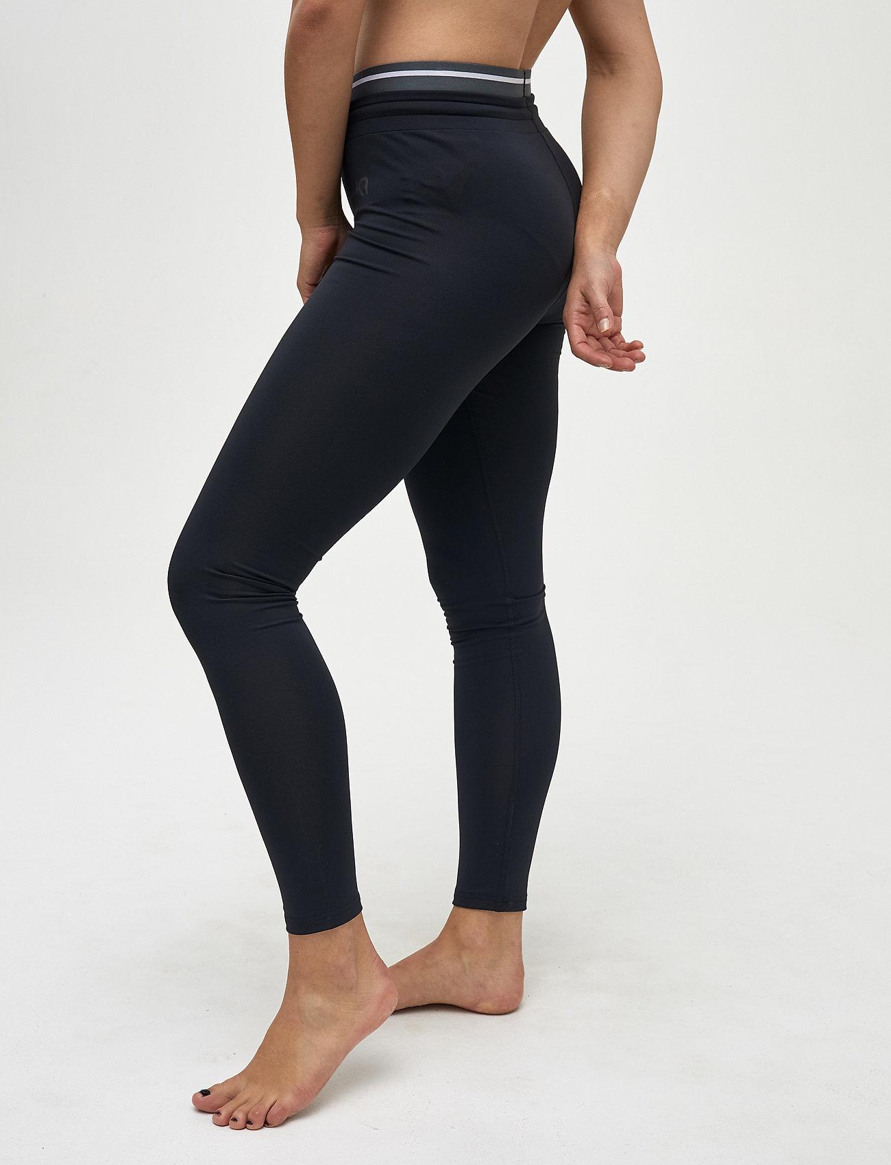 Kari Traa MIA TIGHTS - Leggings & tights BLACK - Dameklær Spesialtilbud